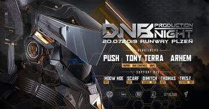 DNB Production Night w/ PUSH at Runway Plzeň @ Runway | Plzen | Czech Republic