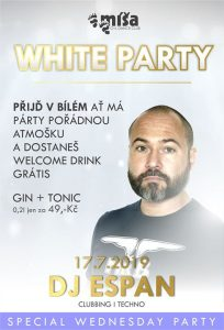 White Party @ Míša Plzeň | Plzen | Czech Republic