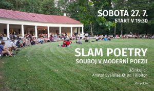 Slam Poetry / Anatol Svahilec Dr. Filipitch @ Kolonáda | Klatovy | Czech Republic
