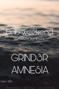 DNB Weekend / w Resident DJ's @ Wave Music Club | Plzen | Czech Republic