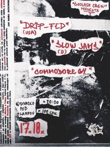 Drip-Fed /us/ Slow Jams /de/ Commodore 64 /cz/ Pod Lampou @ Divadlo pod lampou | Plzen | Czech Republic