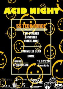 ACID NIGHT @ Bar u Kylla | Plzen | Czech Republic